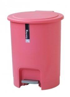 315百貨~森活亮彩風~C908 C-908 彩虹踏式垃圾桶8L/資源回收桶 直立式 垃圾分類收納桶 掀蓋式 紙林