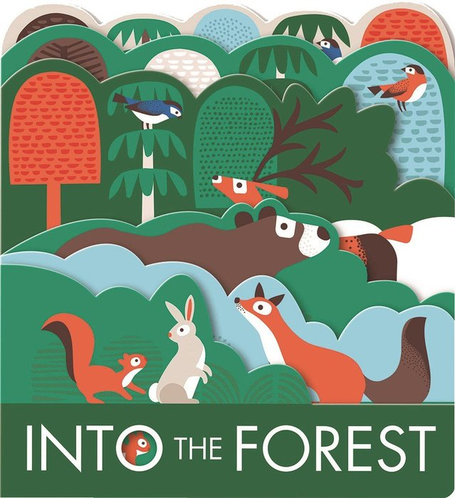 INTO THE FOREST /硬頁造型書