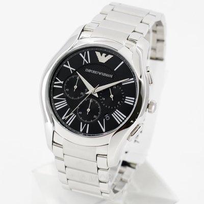 現貨 可自取 EMPORIO ARMANI AR11083 亞曼尼 手錶 44mm 黑面盤 三眼計時 男錶女錶