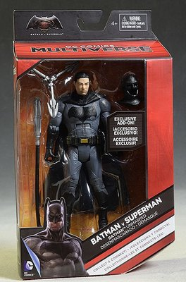 金錢貓雜貨 全新 DC Multiverse Mattel Batman 蝙蝠俠對超人 Unmasked 露臉蝙蝠俠