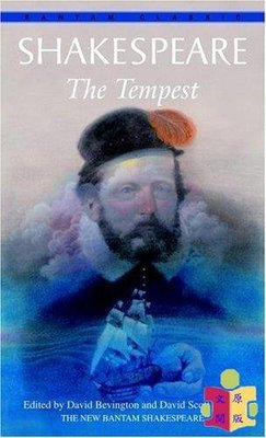 [文閲原版]莎士比亞:暴風雨 英文原版 Bantam Classics:The Tempest William Shakespeare