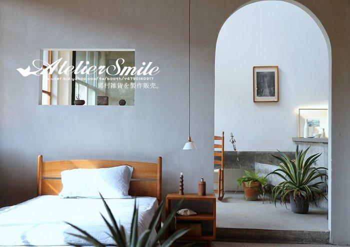 [ Atelier Smile ] 鄉村雜貨 日本直送 復古玻璃黃銅 手工吊燈 純銅製配件 民宿 咖啡廳 文青 # 免運