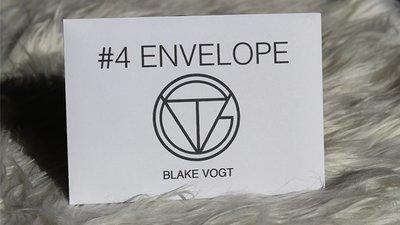 【天天魔法】【S1310】正宗原廠~4 Out信封~Number 4 Envelope by Blake Vogt
