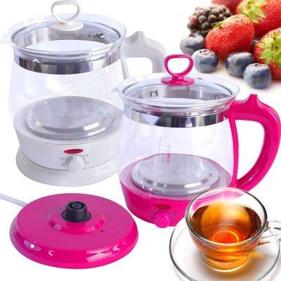 304不鏽鋼玻璃美食養生壺 熱水壺 煮水壺