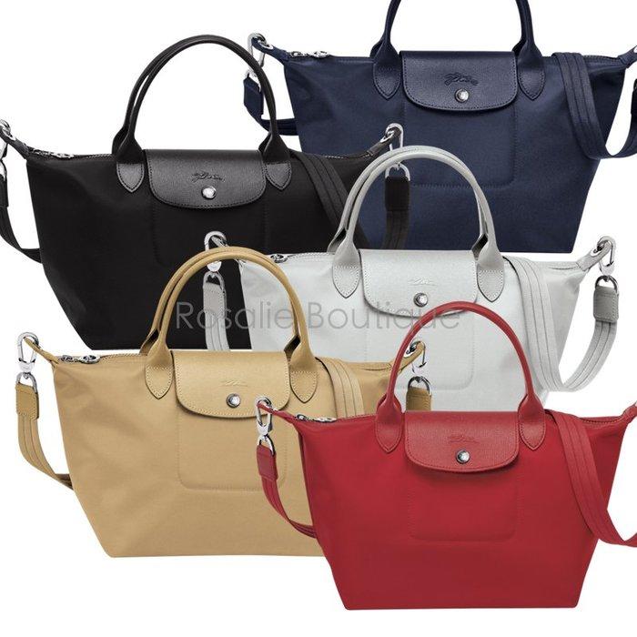 ❤羅莎莉歐美精品代購❤法國Longchamp NEO 後尼龍手袋(S/小)-全新代購