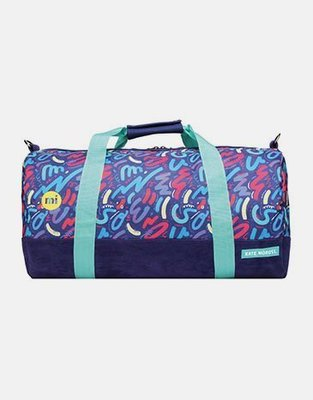【GIANT MALL】現貨 免運 MI-PAC*KATE MOROSS DUFFEL 聯名款 休閒 男女 托特包 行李包 英國 蠟筆小新塗鴉