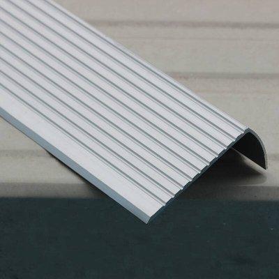 現貨【joburly】鋁合金止滑條 全鋁款 60*25mm 長度一米100公分 樓梯防滑條 收邊條 止滑條 包角條 地板壓條