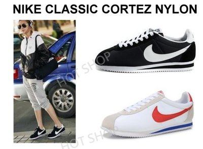 NIKE CLASSIC CORTEZ NYLON 阿甘鞋 黑 白 藍 紅 慢跑鞋 運動鞋 休閒鞋 男鞋 女鞋 情侶鞋
