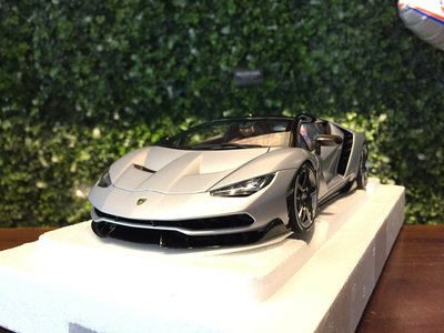 1/ 18 AUTOart Lamborghini Centenario Roadster Matt 79116【MGM】 台北市