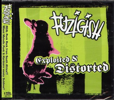 K - FUZIGISH - EXPLOITED & DISTORTED - 日版 CD - NEW