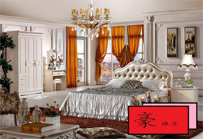 【豪雅居】歐式浪漫家具系列-床件組【A680#妝台+凳】【安裝費】