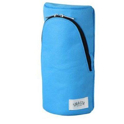 站立筆袋  SONIC  日本設計直立式筆袋-淺藍 FD-7041