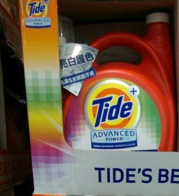 【代購屋】Costco 好市多 代購 Tide 汰漬 OXI亮白護色洗衣精 4.43公升/無磷/洗衣精