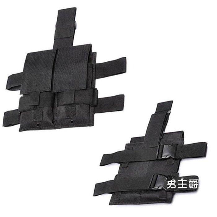 YEAHSHOP 腿包腰包運動手機包戰術雙聯多功Y185