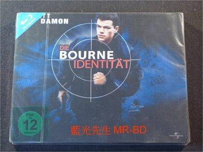 [藍光BD] - 神鬼認證 The Bourne Identity BD-50G 限量鐵盒版