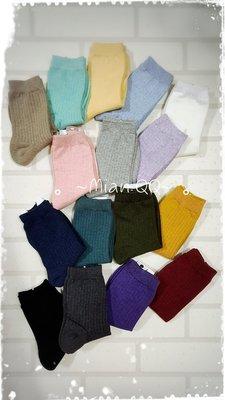。~ Mian QQ ~。無印風裸色系 20-26cm 短襪 正韓貨 ㊣ 韓襪 韓國襪子 W