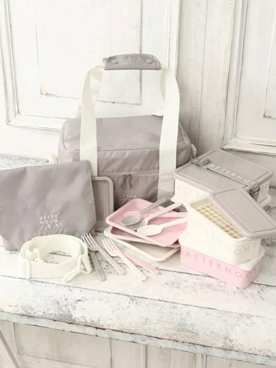 【Apple 艾波好物.選物】Afternoon Tea   春遊 夏遊 下午茶餐盒 野餐盒 便當盒 保冷袋
