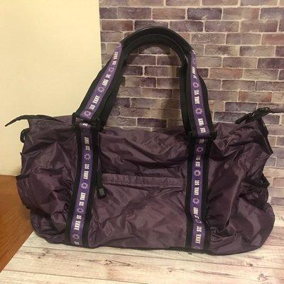 ANNA SUI 紫色小型旅行袋