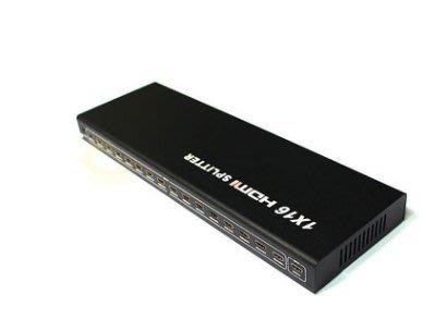 現貨 HMDI 1X8 1分8 高清信號分配器 帶遙控器1080P