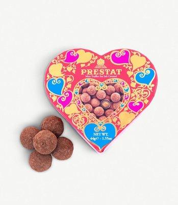 英國PRESTAT Mini Salted Caramel chocolate truffles 100g情人節限定預定