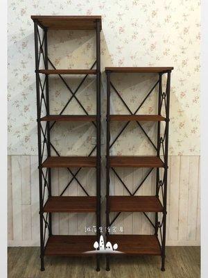 ~誠萍生活家具~美式鐵藝六層書架 可折式收納架 多功能置物架 直購價$3890