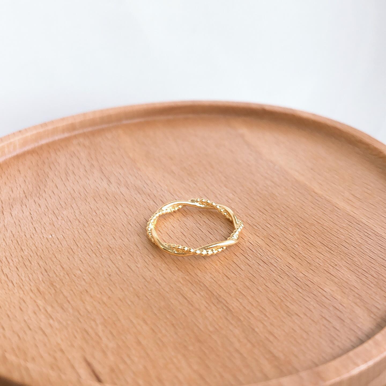 《現貨》韓國❤️滿鑽 鋯石 線戒 尾戒 戒指【Verina's韓系美飾】