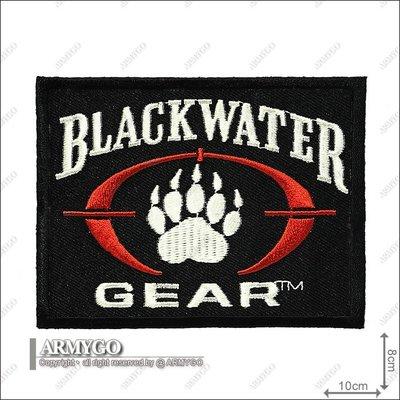 【ARMYGO】美國黑水部隊黑色方型章