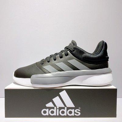 adidas PRO ADVERSARY L 男生 黑色 緩震 籃球鞋 G54115