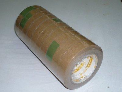 【保隆PLonline】四維鹿頭牌 24mm*40M牛皮紙膠帶 可寫字