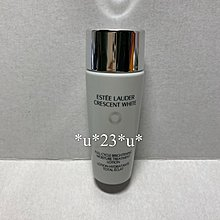 Estee Lauder crescent white full cycle brightening moisture treatment lotion 1支