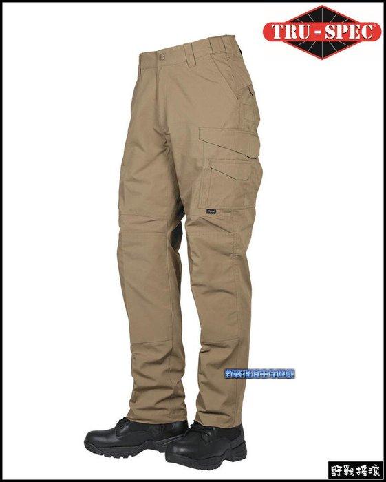 【野戰搖滾】美國 TRU-SPEC 24-7 PRO FLEX 戰術長褲【狼棕色】 迷彩褲勤務褲工作褲特勤軍警特警褲