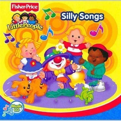 Little People Fisher Price Songs 費雪Fisher 6CD