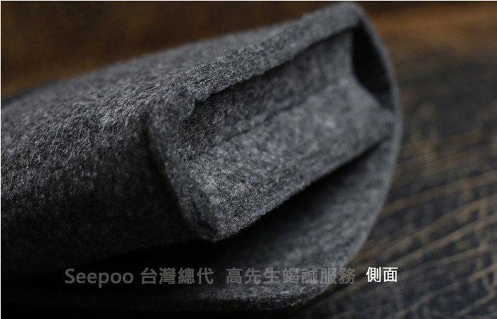 【Seepoo總代】2免運 收納包Apple iPhone11 6.1吋羊毛氈套 多功能袋手機殼 手機袋 保護套 黑灰