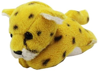 11793c 日本進口 好品質 限量品 可愛 獵豹花豹 動物磁鐵可吸冰箱有磁性 毛絨毛娃娃玩具玩偶收藏品擺件禮品