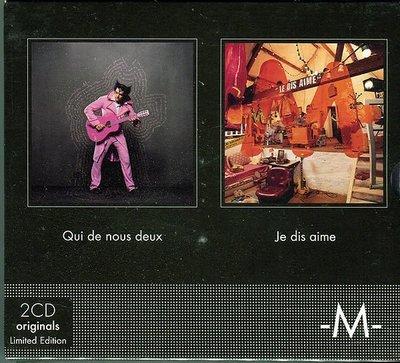 【嘟嘟音樂2】M - 耶誕套組 QUI DE NOUS 2 / JE DIS AIME  2CD  (全新未拆封)