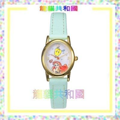 日本東京迪士尼商店Disney《Ariel小美人魚艾麗兒艾莉兒 手錶》【日本正版】生日情人聖誕節禮物