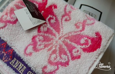 東京攜回日本製Anna Sui 安娜蘇女性四方毛巾布隨身手帕手絹