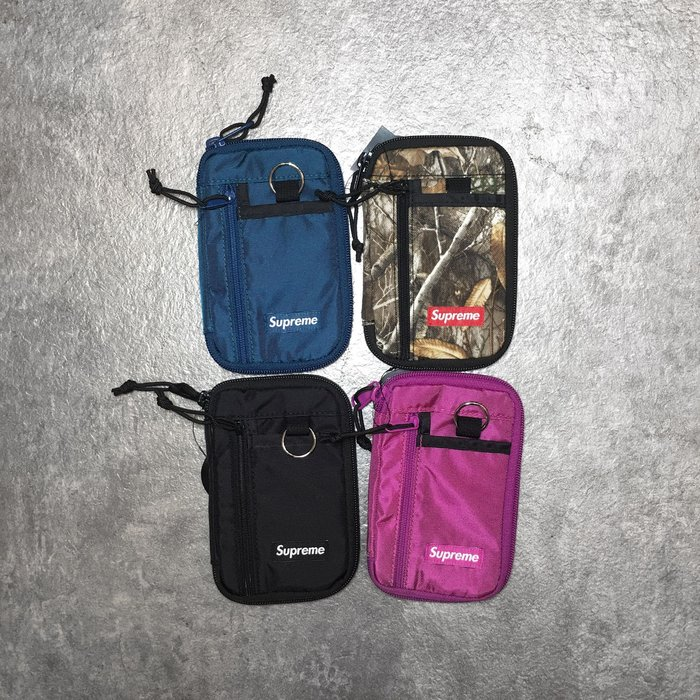 【Faithful】SUPREME 47TH Small Zip Pouch【FW19B12】 零錢包 四色 小包