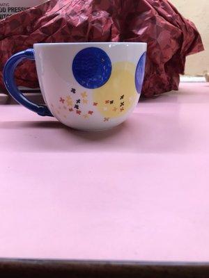 全新現貨  2012 星巴克 Starbucks ~中秋節限定款 藍色月亮馬克杯  355ml