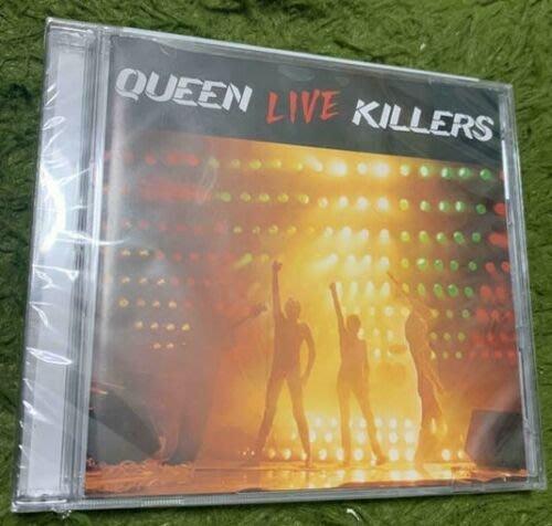 美版2CD《皇后合唱團》謀殺演唱會 /Queen live killers全新未拆