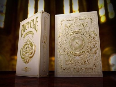 【USPCC 撲克】Bicycle collector's pearl white deck