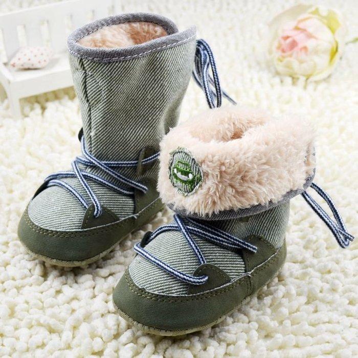 寶貝倉庫~時尚可反折保暖雪鞋~學步鞋~寶寶鞋~嬰兒鞋~軟底鞋~靴子~童鞋~可折設計~坐螃蟹車~彌月送禮~促銷價1雙137