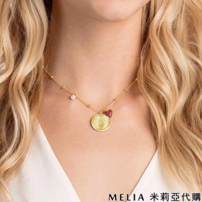 Melia 米莉亞代購 商城特價 數量有限 每日更新 Swarovski 施華洛世奇 飾品 項鍊 幸運金幣
