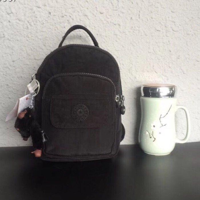 Kipling 猴子包 mini HB7349  黑色 多用款肩背 斜背 側背 輕量雙肩後背包 小號 防水 限時優惠