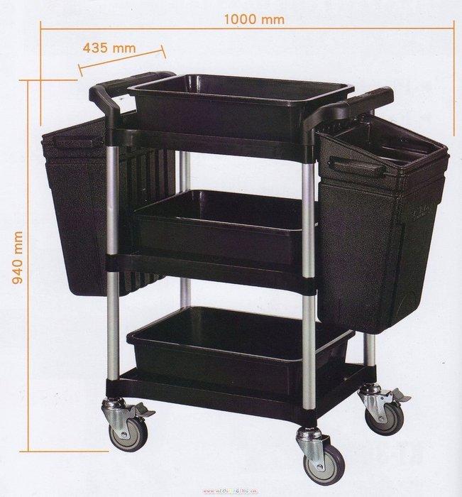 【鎮達】多功能全方位分類車 / 工作車 / 手推車 / 美容推車 / 餐車 KT-3852FG