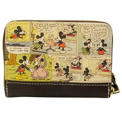 🇯🇵【Made in Japan】Mickey and Minnie 米奇 米妮 日本原裝正版 真皮 銀包 div-dca-21