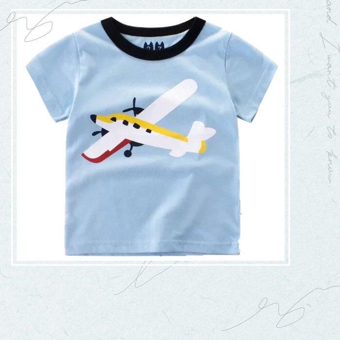 ✿荳荳小舖✿ 現貨⚽ 飛機造型純棉T短袖上衣