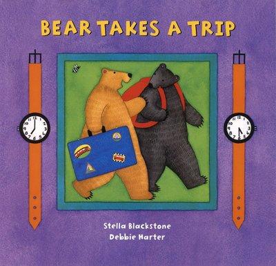 ~小貝比的家~BEAR TAKES A TRIP 平裝 3~6歲 句型練習