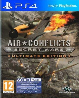 全新未拆 PS4 藍天對決 秘密戰爭終極版-英文版-Air Conflicts: Secret War Ultimate