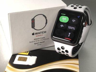 Apple 直購平價Apple Watch Series 3 (GPS + Cellular) - 42 毫米